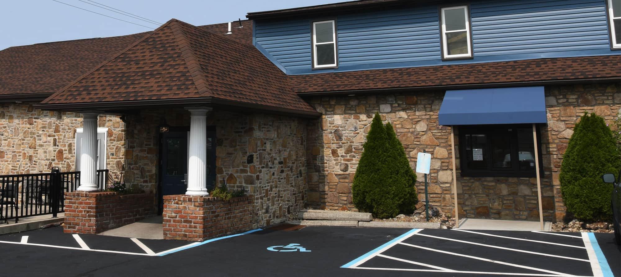 Entrance of NyKo's restaurant